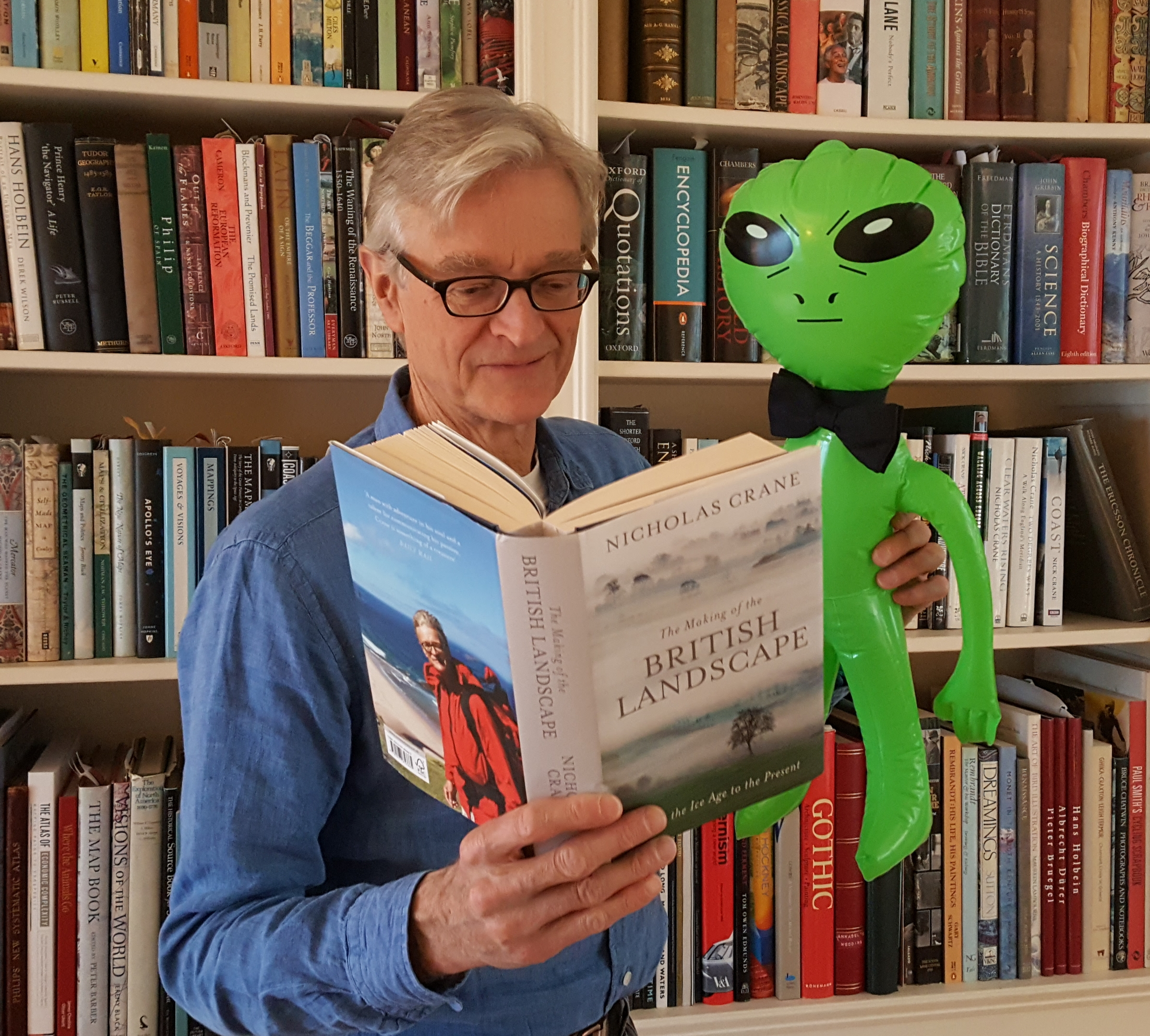 Nick with Alien
