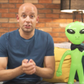 Atul and Alien - Couch