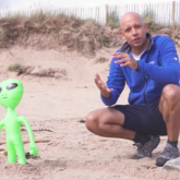 Atul and Alien - Beach