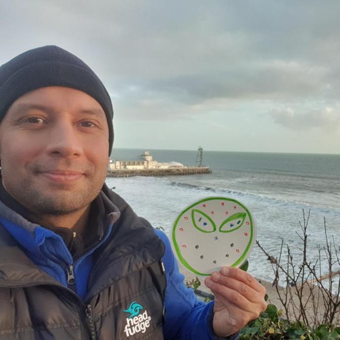 Alien 1 in Bournemouth, UK